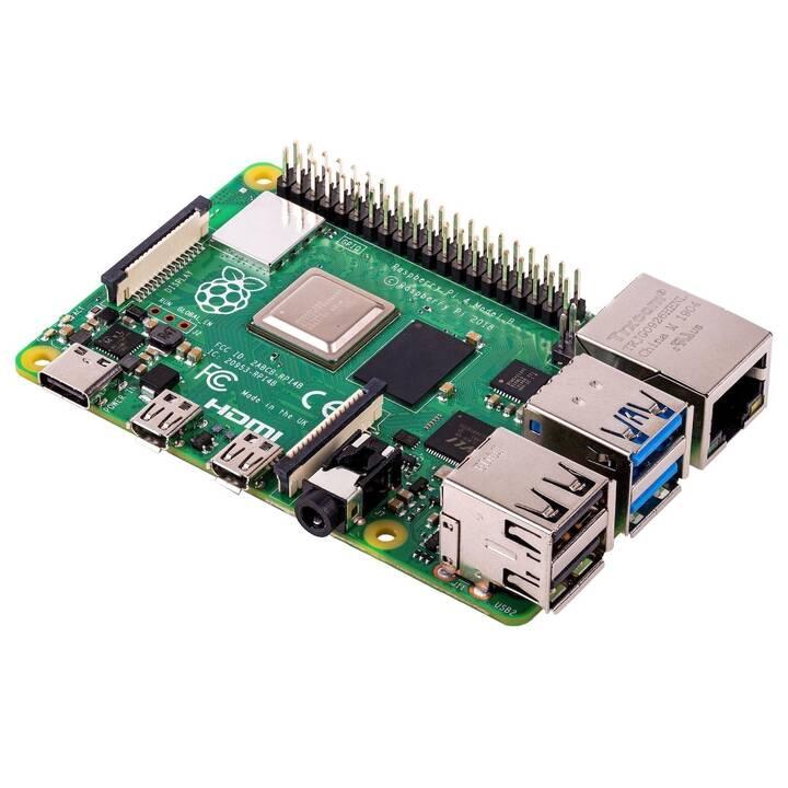 Sélection de modèles Raspberry Pi en promo - Ex: Carte de Développement Raspberry Pi 4 2Go (Frontaliers Suisse]