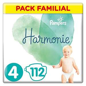 Pack de 112 couches Pampers Harmonie - Taille 4