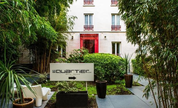 1 Nuit d'hôtel à Le Quartier Bercy Le DImanche 22 Décembre - Paris (75)