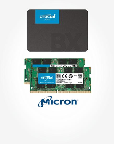 Jusqu'à 30% de réduction sur une sélection de SSD et DRAM Crucial & Ballistix