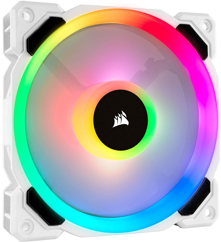 Ventilateur PC Corsair LL120 RGB (Blanc) - 120 mm