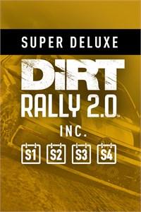 DiRT Rally 2.0 Super Deluxe Edition (jeu + saisons 1 à 4) sur Xbox One (Dématérialisé)