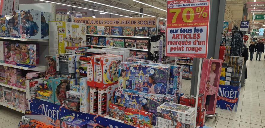 100% offert en bon d'achat sur une sélection de jouets - Cora Remiremont (88)