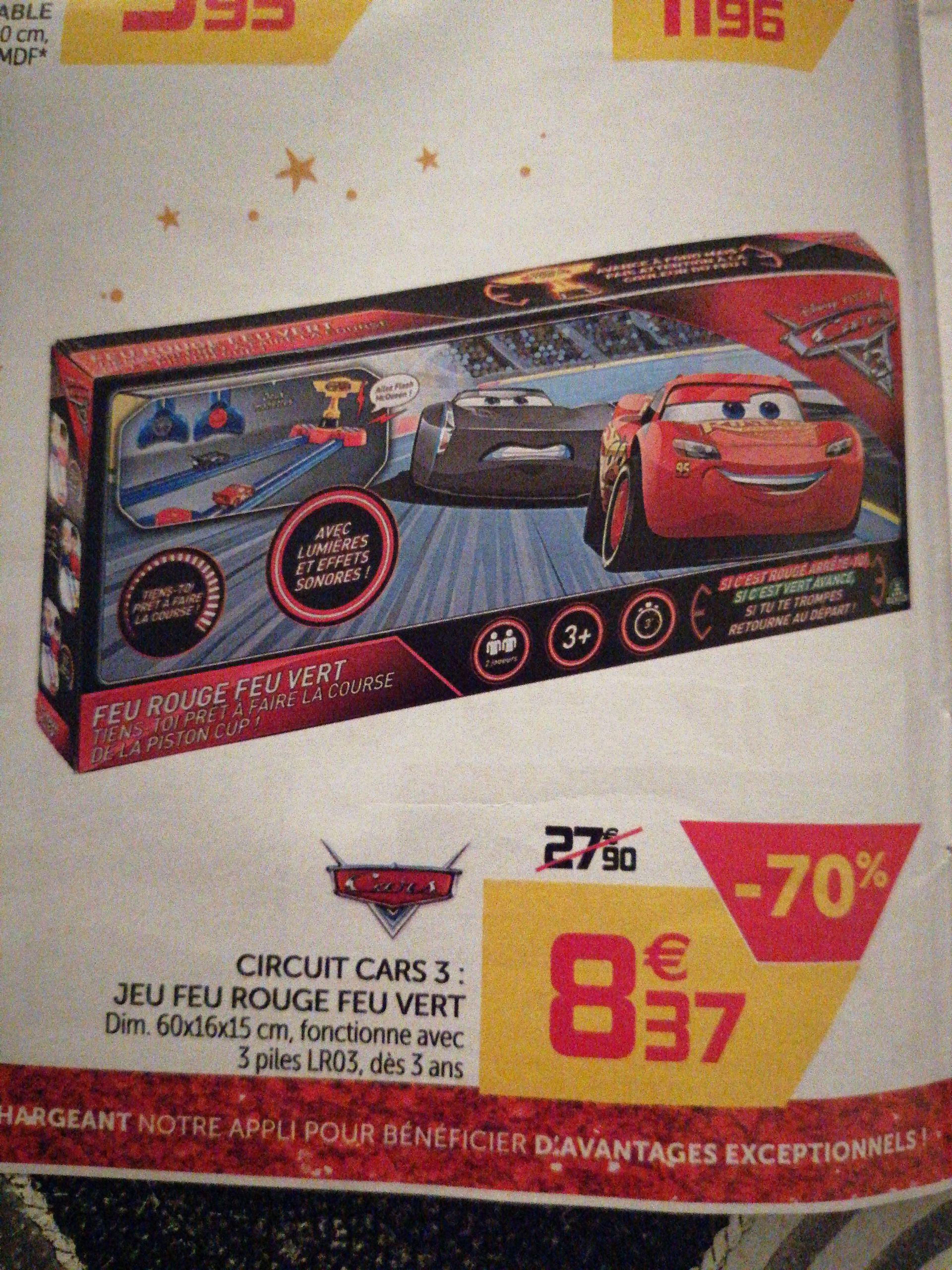 Sélection de jouets en promotion - Ex : Jouet Circuit cars 3 Feu rouge Feu vert