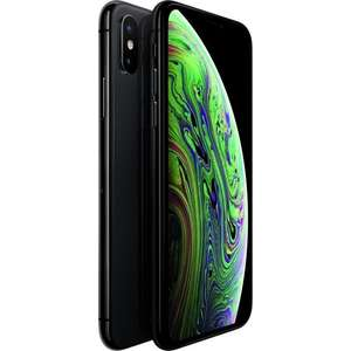 "Smartphone 5.8"" Apple iPhone Xs - Full HD+, A12, 4 Go de RAM, 64 Go, Gris sidéral (Vendeur Tiers)"