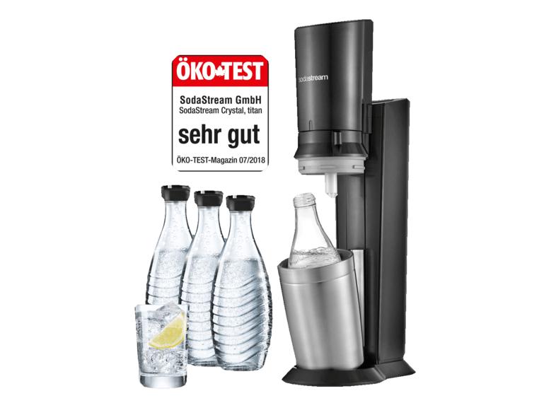 Pack Machine Sodastream Crystal Megapack (Frontaliers Suisse)