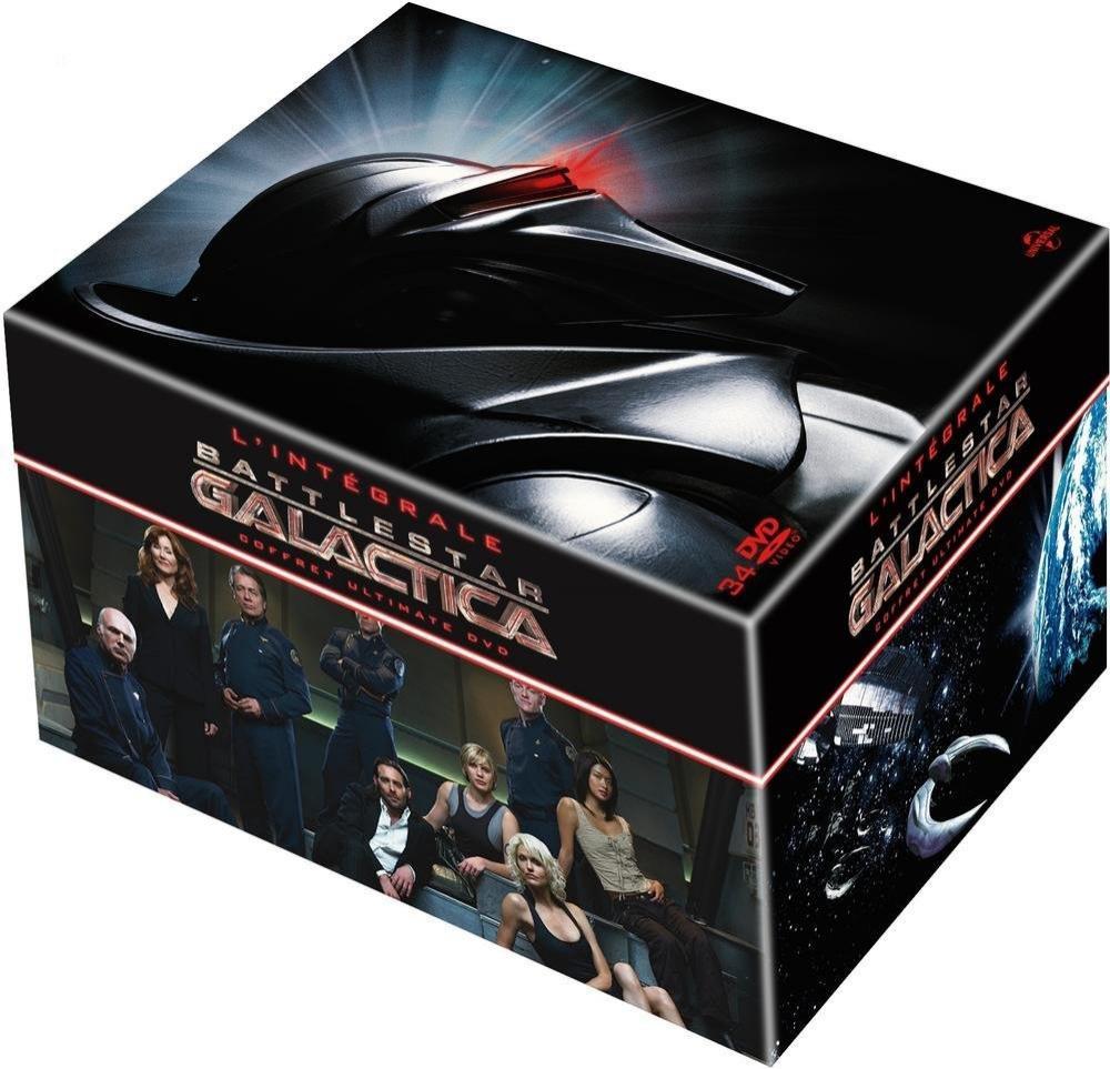 Coffret DVD Battlestar Galactica - L'intégrale