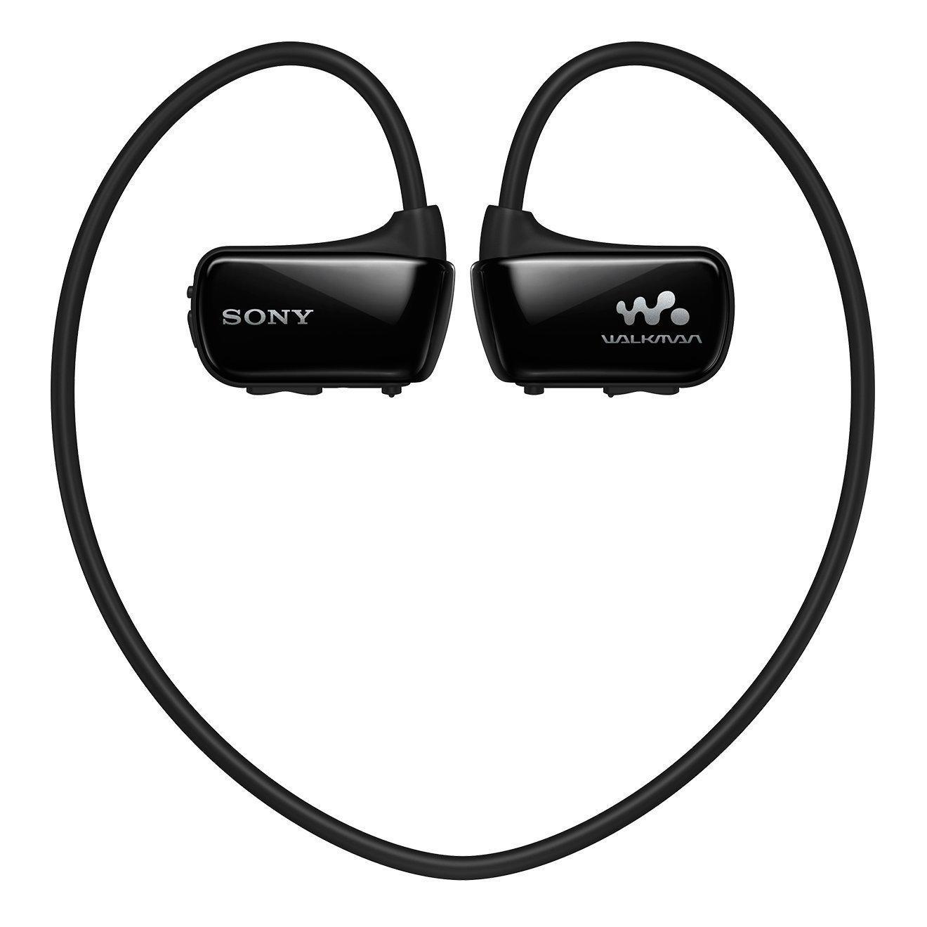 Casque-baladeur Sony NWZ-W273SB.CEW - 4 Go de mémoire, étanche (IPX8), Noir