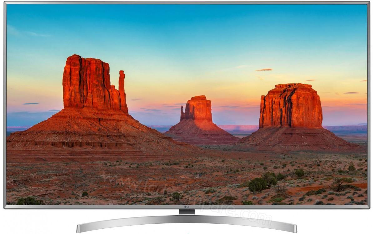 "TV 65"" LG 65UK6950 - 4K UHD, Smart TV (Via 239.7€ en Bon d'Achat) - Sélestat Zi Nord (67)"