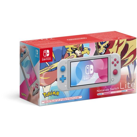 Console Nintendo Switch Lite - Zacian & Zamazenta Edition (vendeur tiers)