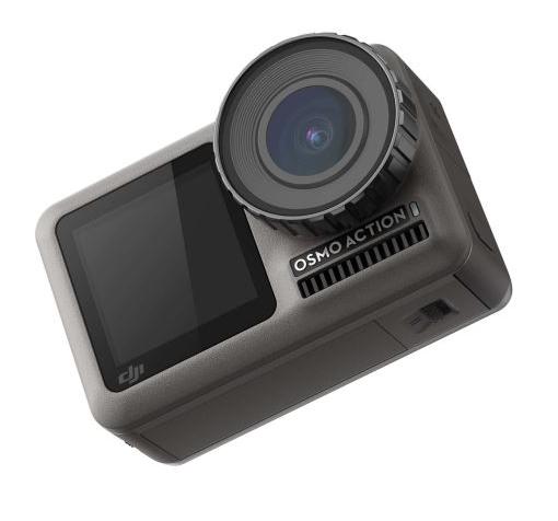 Caméra sportive DJI Osmo Action UHD 4K + Sandisk ultra PLUS MicroSDXC 64 Go
