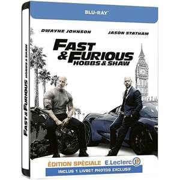 Blu-Ray : Fast & Furious - Hobbs & Shaw