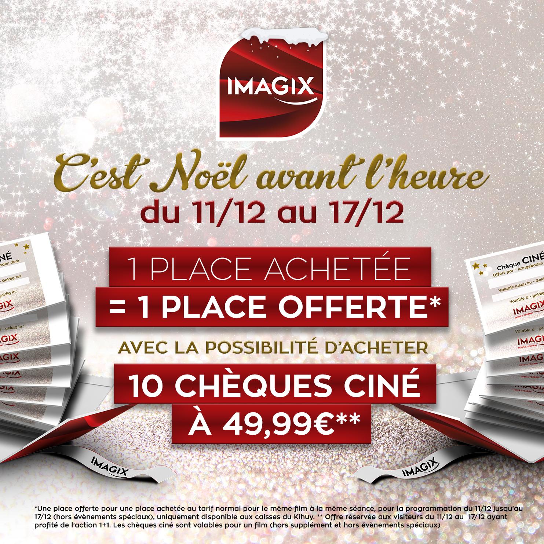 Lot de 10 Places de Cinéma Imagix (Frontaliers Belgique)