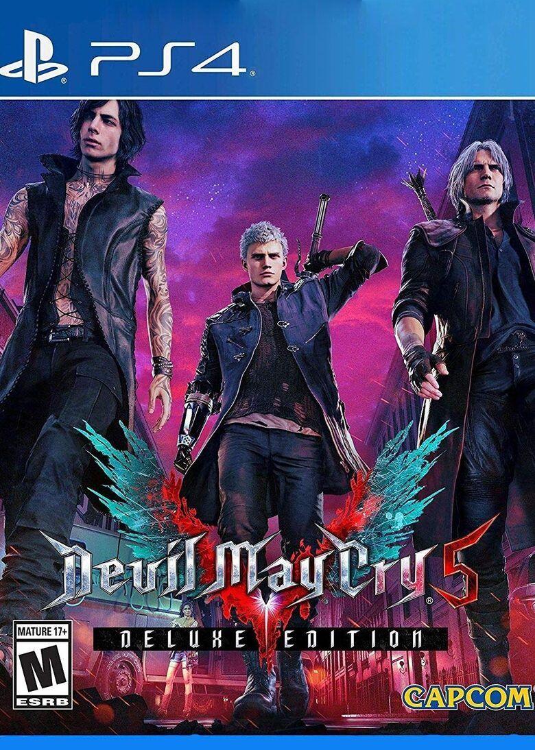DLC Deluxe Devil May Cry 5 sur PS4 (Dématérialisé)