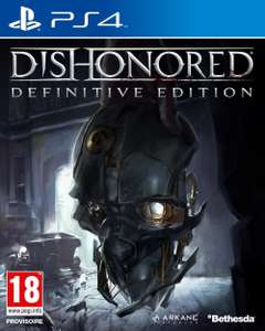 Dishonored : Definitive Edition sur PS4 et Xbox One