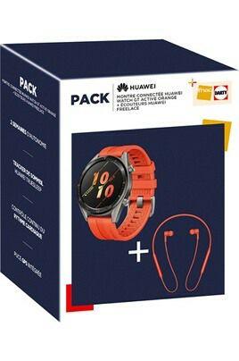 Pack Montre Connectée et Ecouteurs Huawei*