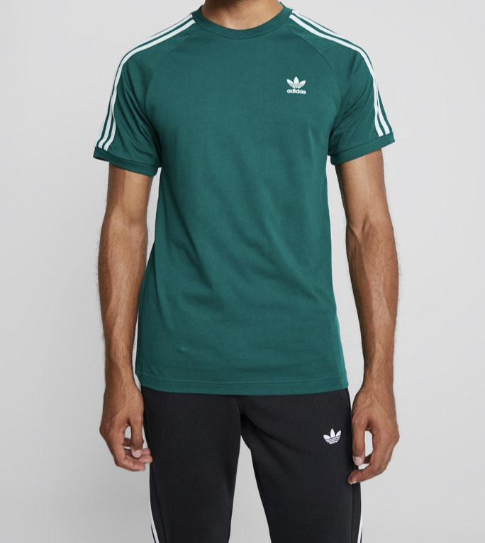 T-shirt imprimé adidas Originals Adicolor Stripes Tee - Tailles au choix