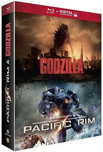 [Blu-Ray] Godzilla + Pacific Rim (Vendeur Tiers)