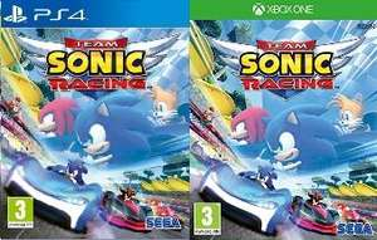 Jeu Team Sonic Racing sur PS4 ou Xbox One