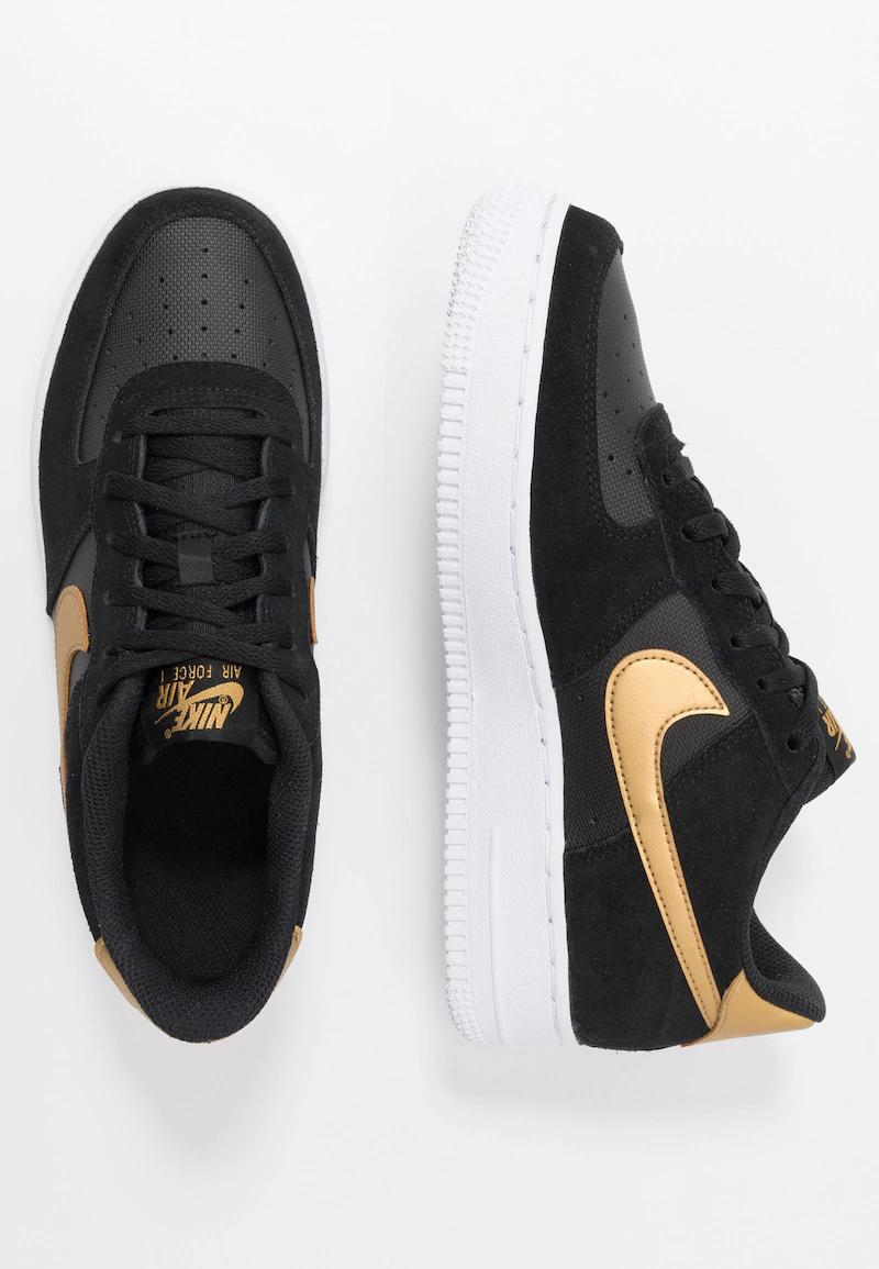 Baskets Nike Air force 1 Black & Gold - 35,5 au 40