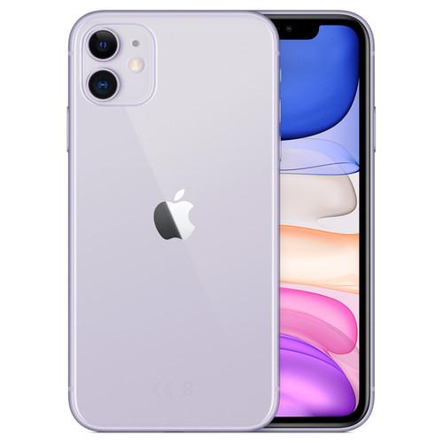 "Smartphone 6.1"" Apple iPhone 11 - HD Retina, A13, 4 Go de RAM, 128 Go, Mauve"