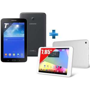 Tablette 7'' Samsung Galaxy Tab 3 Lite VE - 8 Go + Tablette 7,9'' CL4C07-IPS - 16 Go - Wifi