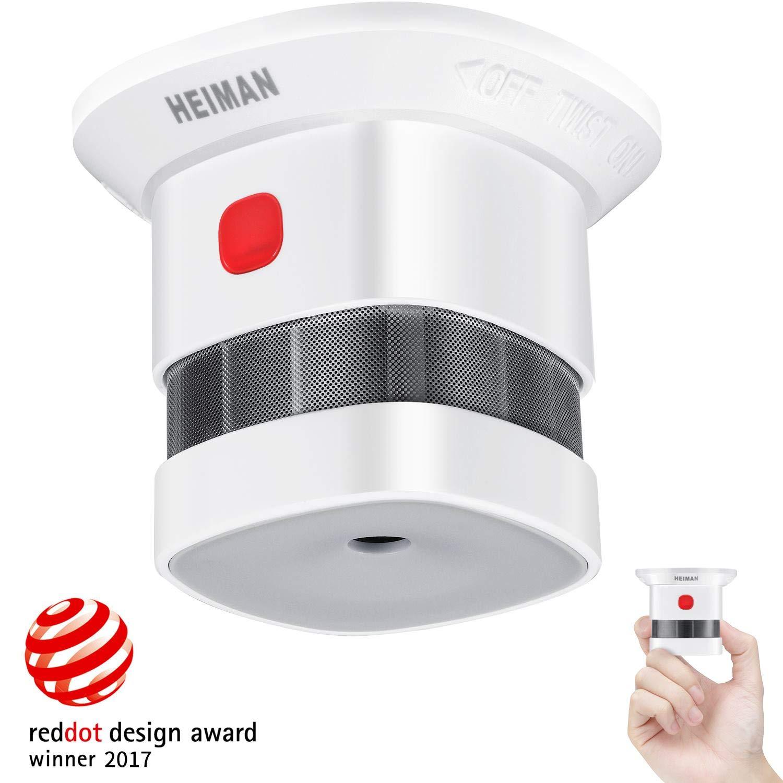 Mini détecteur de fumée Heiman (Vendeur tiers)