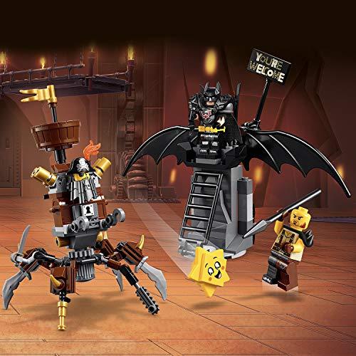 Jouet Lego The Lego Movie 2 - Batman en armure de combat et Barbe d'Acier (70836)