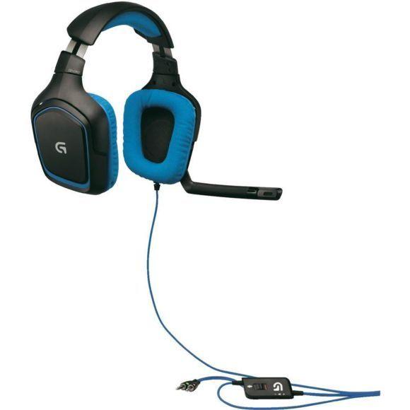 Micro-Casque Logitech G430 compatible PC & PS4 (Vendeur tiers)