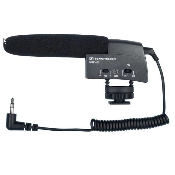 Jusqu'à 50% de réduction sur Kits sans-fil et Micros - Ex : Microphone canon MKE 400