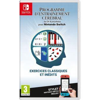 [Précommande - Adhérents] Programme d'entrainement cérébral du Dr Kawashima sur Nintendo Switch (+ 5€ sur votre compte fidélité)