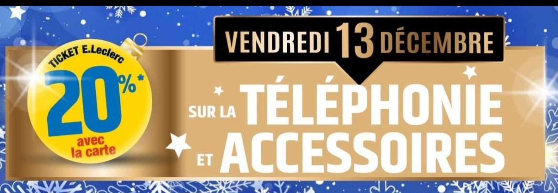 20% remboursé sur la carte fidélité sur les téléphones et accessoires - Saint-Amand-les-Eaux (59)