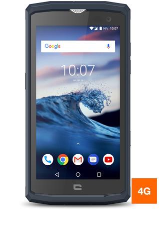 "Smartphone 5"" Crosscall Core-X3 - 16 Go ROM, Bleu"
