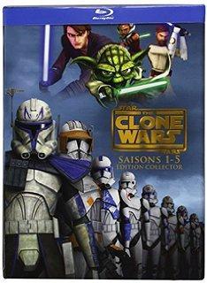 Coffret blu-ray The Clone Wars L'intégrale Saisons 1 à 5 collector