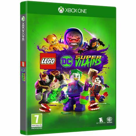 Lot de 2 Jeux vidéo Lego DC Super Vilains sur Xbox One