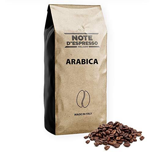 Lot de 2 sachets de grains de café Note d'Espresso Arabica - 2x1 kg