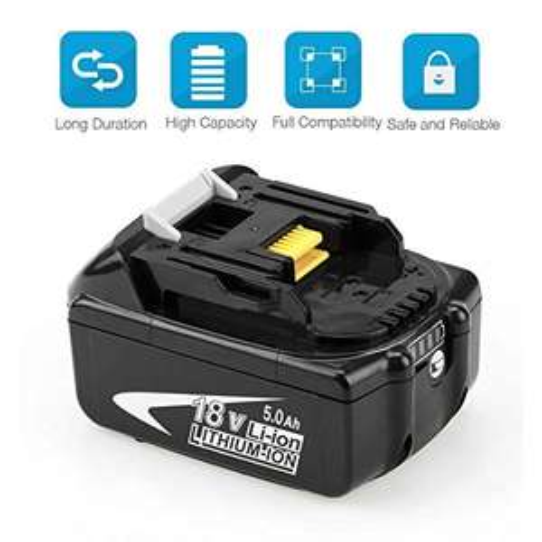 Batterie Remplacement pour Makita Reoben BL1850B - 18V (Vendeur tiers)