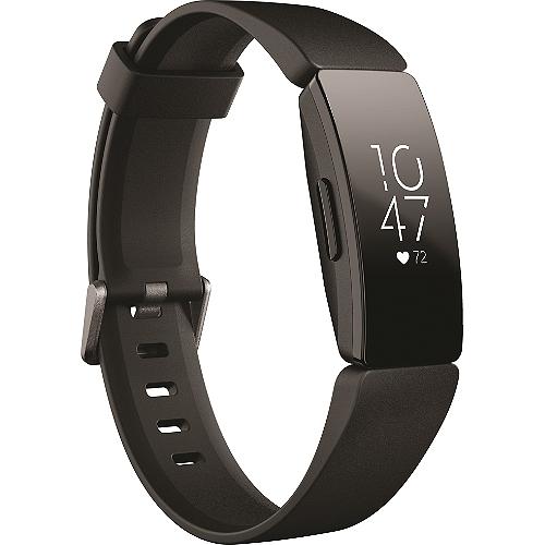 Bracelet connecté Fitbit Inspire HR - Noir ou Lilas