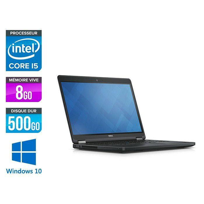 "PC Portable 12.5"" Dell Latitude E5250 - i5-5300U, 8 Go de Ram, 500 Go (Reconditionné) + Sacoche offerte"