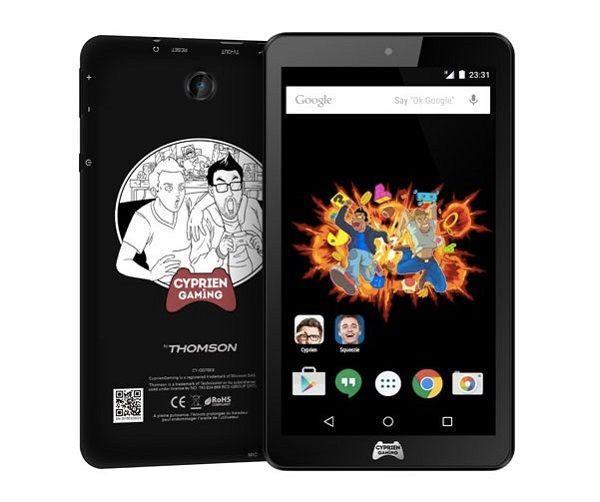 """Tablette 7"""" Thomson Cyprien Gaming à 1€ dès 399€ d'achats en Literie ou Canapé"""