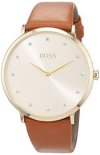 Montre femme Hugo Boss - Analogique, Quartz avec bracelet en Cuir