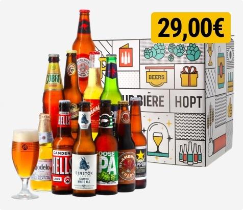 Coffret à table (4 bières) offert dès 50€ ou Assortiment de 24 bières dès 100€ d'achat pour un retrait au Drive - Fretin (59)