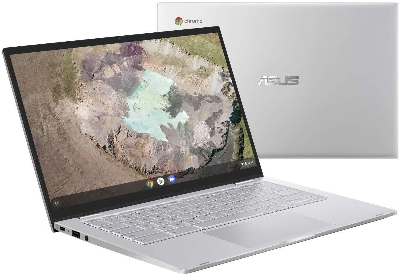 "PC Portable 14"" Asus Chromebook C425TA5—H50013 - m3-8100Y, 8 Go de Ram, 64 Go eMMC"