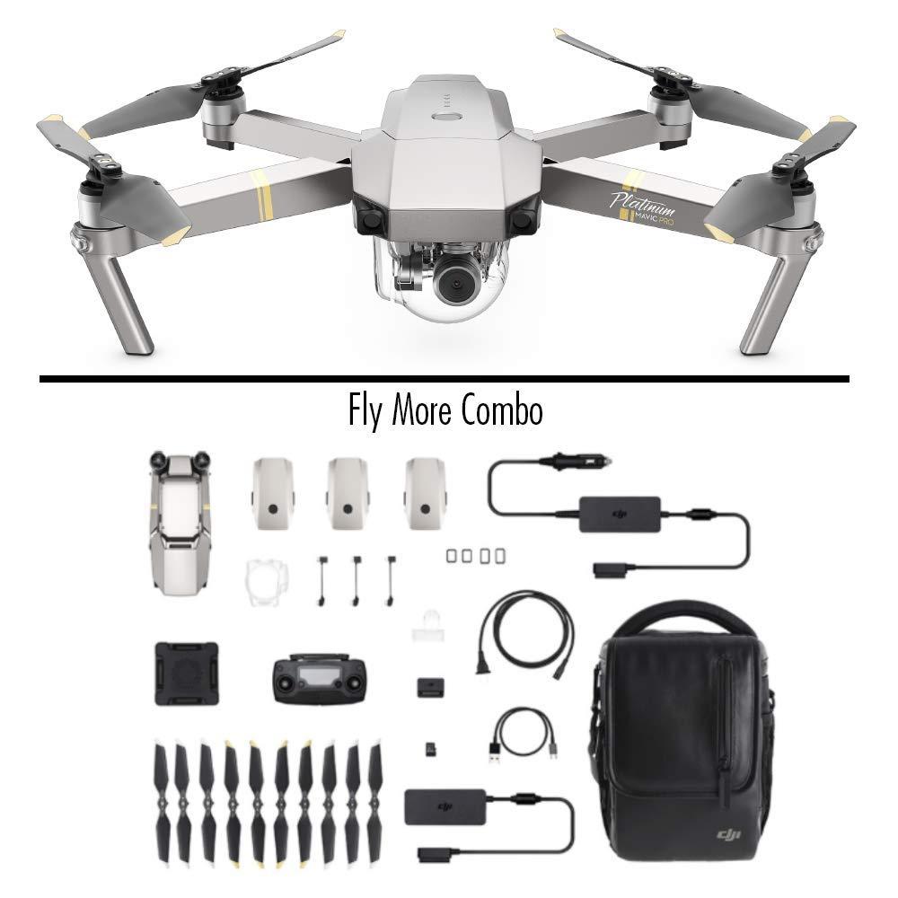 Drone DJI Mavic Pro Platinium - Fly more combo