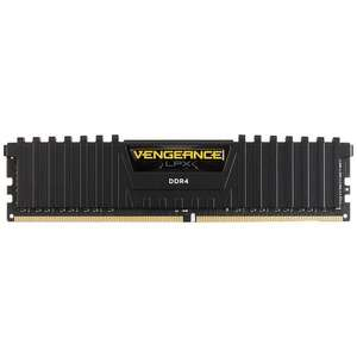 Mémoire DDR4 Corsair Vengeance LPX Black - 8 Go, 3000 MHz, CAS 16