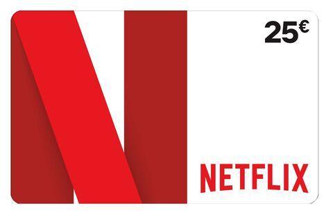 E-carte Netflix d'une valeur de 25€ offerte pour tout achat d'une tablette tactile Android (Hors Marketplace)
