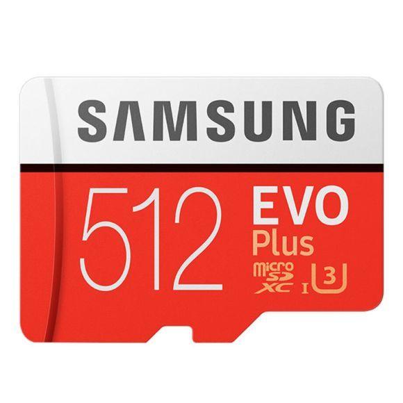 Carte microSDXC Samsung Evo Plus U3 - 512 Go (vendeur tiers certifié )