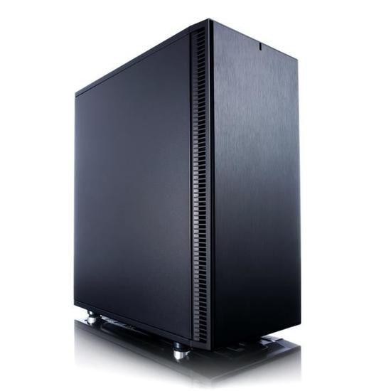 Boitier PC Fractal Design Define C - Noir, Moyen Tour, Sans alimentation