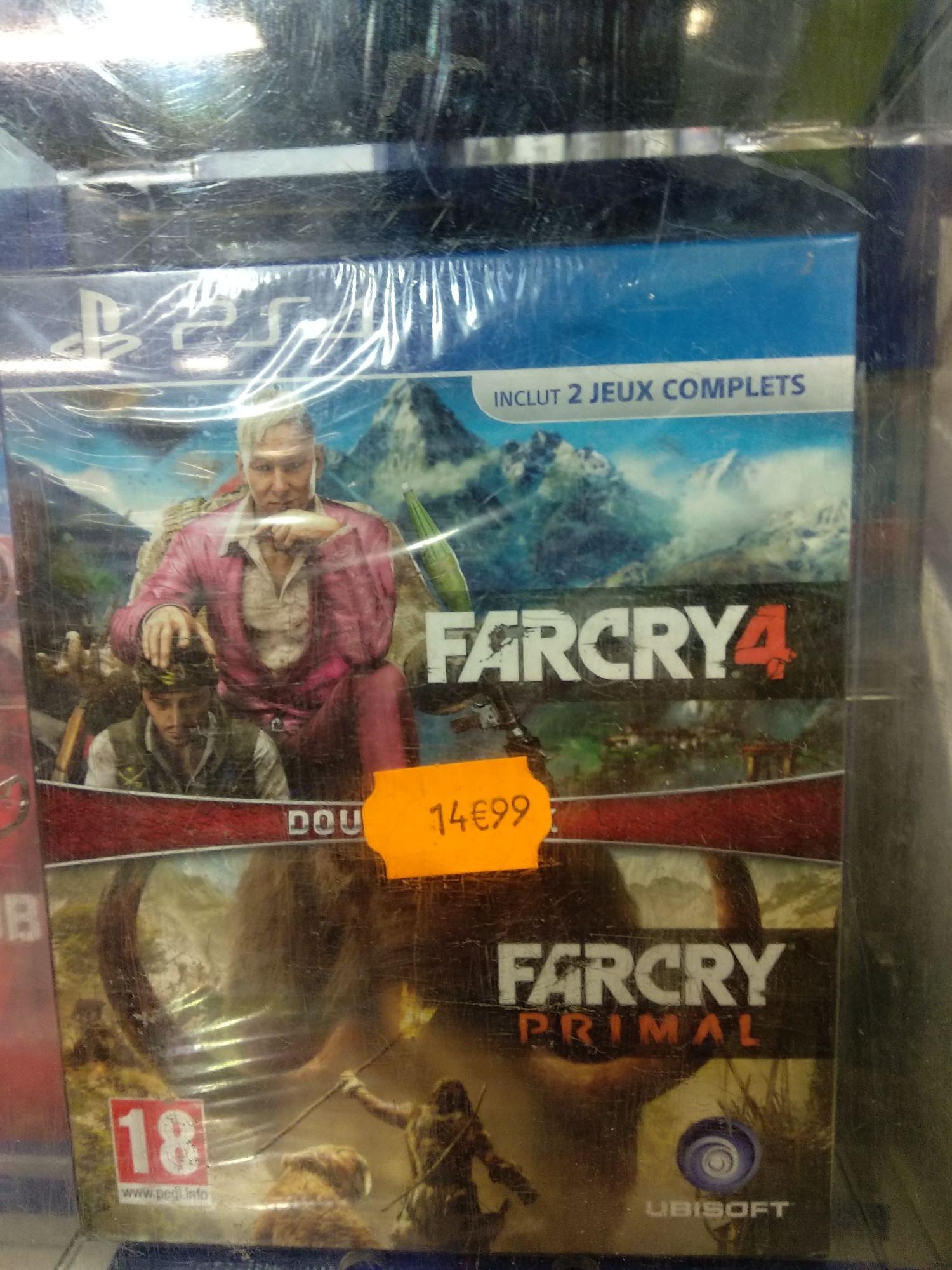 Bundle Far Cry Compilation - Far Cry 4 + Far Cry Primal sur PS4 - Marsac-sur-l'Isle (24)