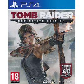 Tomb Raider Definitive Edition sur PS4